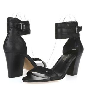 Julianne Hough for Sole Society black block heels